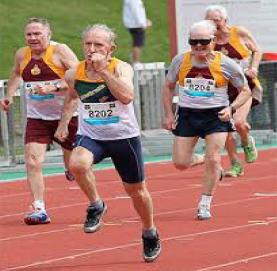 Hughie Thomsen Master Athlete